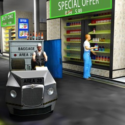 Drive Thru Supermarket 3D - Cargo Delivery Truck on the App