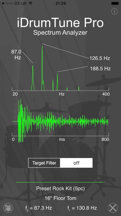 Drum Tuner - iDrumTune Pro screenshot-2
