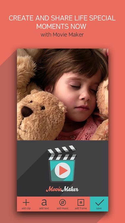 Movie Maker+ Combine My Clips screenshot-4