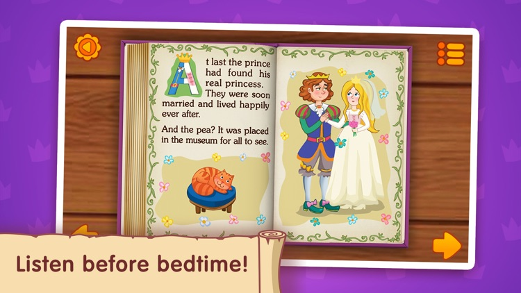 The Princess and the Pea ~ Fairy Tale for Kids screenshot-2