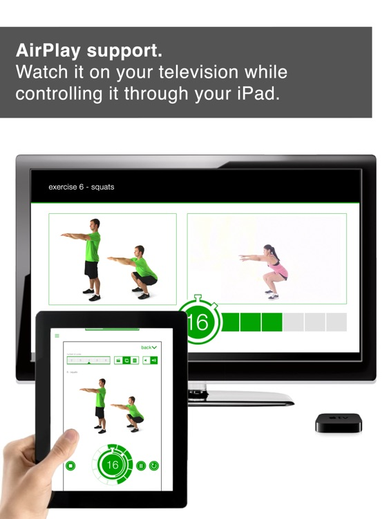7 Minute Workout Challenge HD for iPad screenshot-4