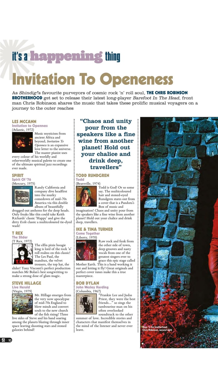 Shindig! Magazine Screenshot
