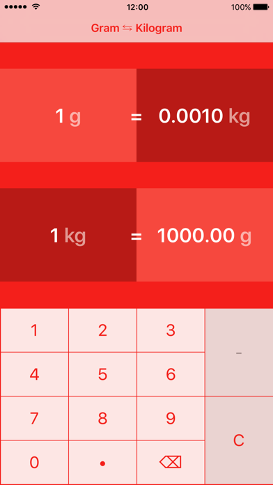 Grammes to Kilogrammes | g to kg screenshot one