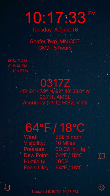 Nav Clock screenshot-2