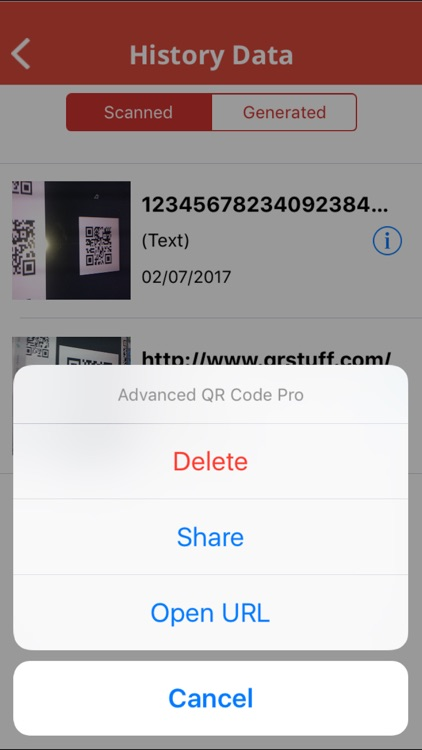 Advanced QR Code Generator and Reader Premium screenshot-4