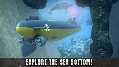 Underwater Pirate Submarine Simulator 3D screenshot two