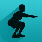 Squats Coach for iPad - Do Two Hundred Squats icon
