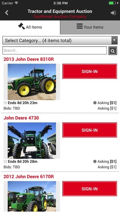 Southwest Auction screenshot-3