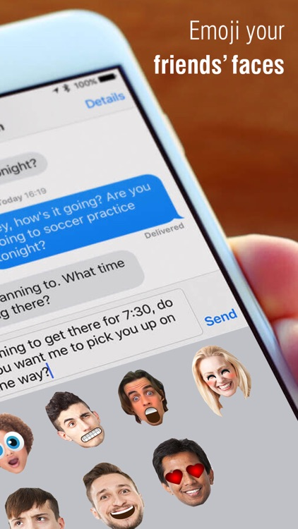 Emoji Me+ Create Face Emojis for iMessage screenshot-3