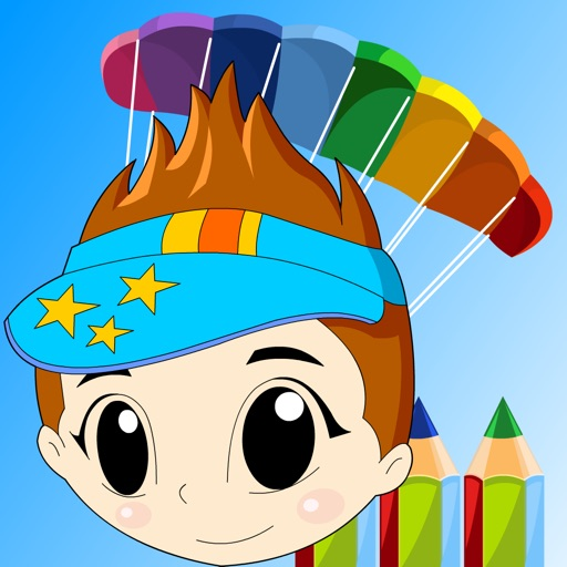Baby Coloring for iPad icon