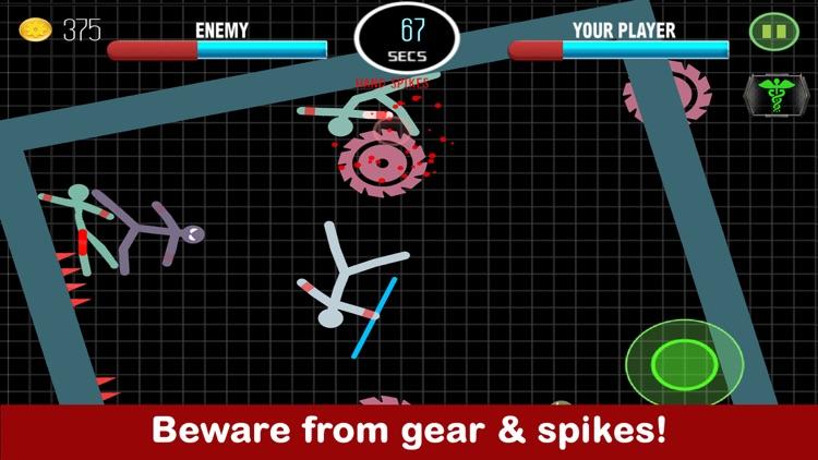 Stickman Fight Boxing Physics Games screenshot-3