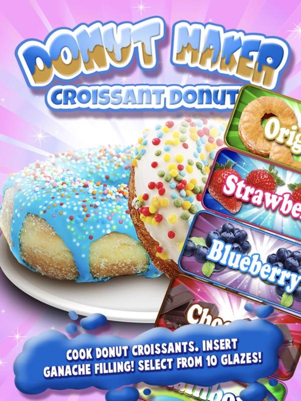 Donut Maker - Dessert & Sweet Donuts Cooking Chef - Online Game Hack