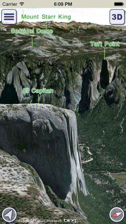 GeoFlyer US Canada 3D Maps