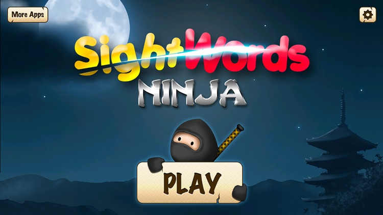 Sight Words Ninja - Slicing Game to Learn to Read