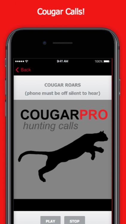 Predator Calls for Cougar Hunting screenshot-0