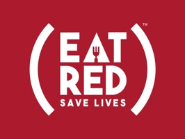 Say it all with food pun stickers designed in support of EAT (RED) SAVE LIVES, a culinary campaign that turns food & drink into a force to fight AIDS every June