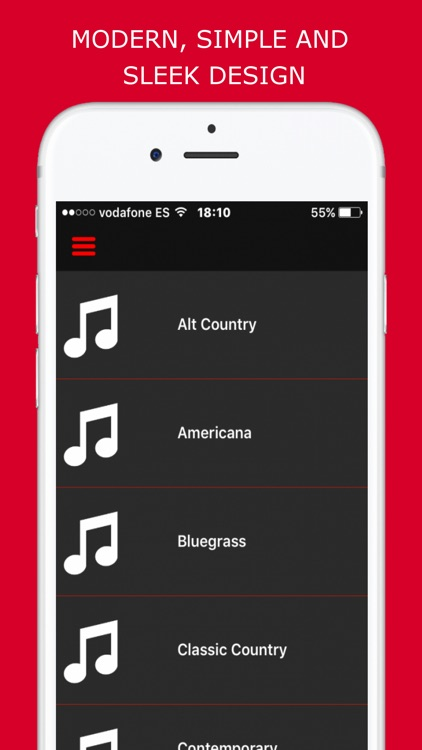 Country Music - Radio Stations screenshot-3