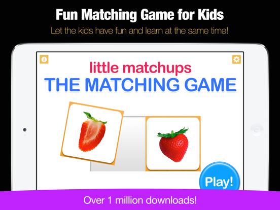 Little Matchups - The Matching Game for Toddlers-ipad-0
