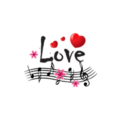 music and flower stickers by wenpei