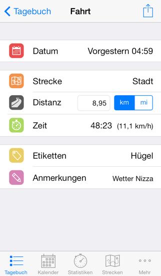 Cyclist LogScreenshot von 1