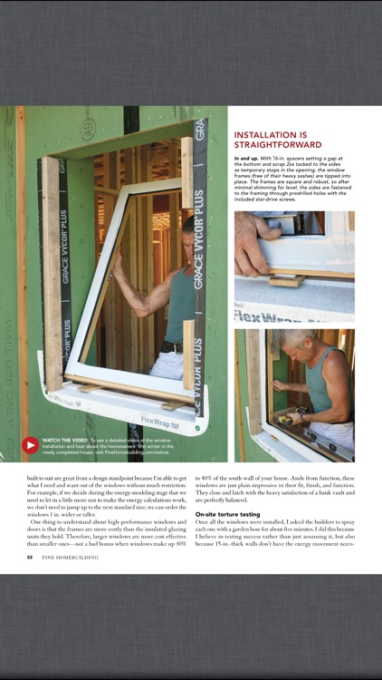 Fine Homebuilding Magazine screenshot-2