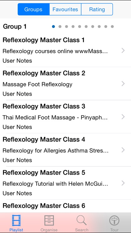 Reflexology Master Class screenshot-1
