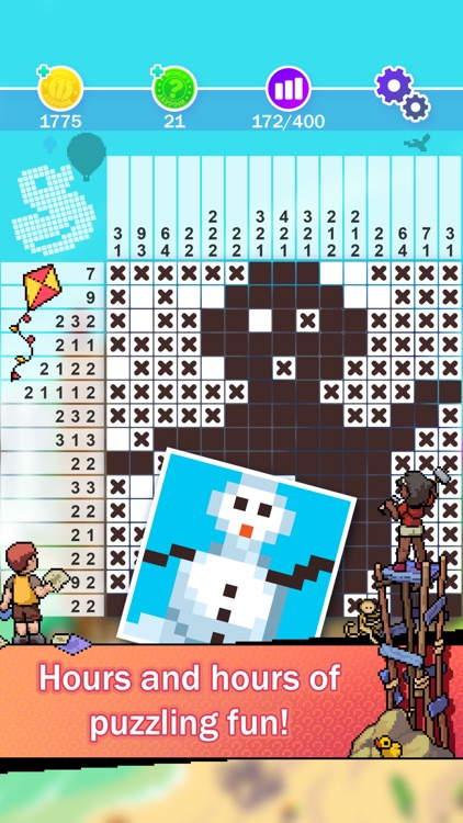 Picture Cross : World's Biggest Picross Puzzle screenshot-4