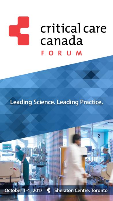 Critical Care Canada Forum2017 screenshot 1