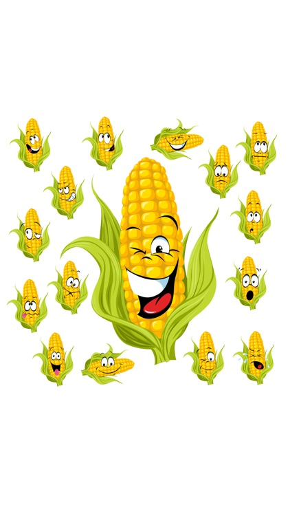 Corn SP emoji stickers screenshot-2