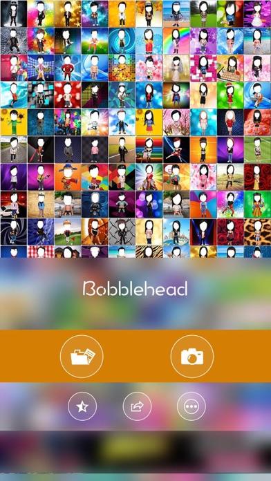 Bobblehead -Fun Selfie Profile photo for snapchat screenshot three