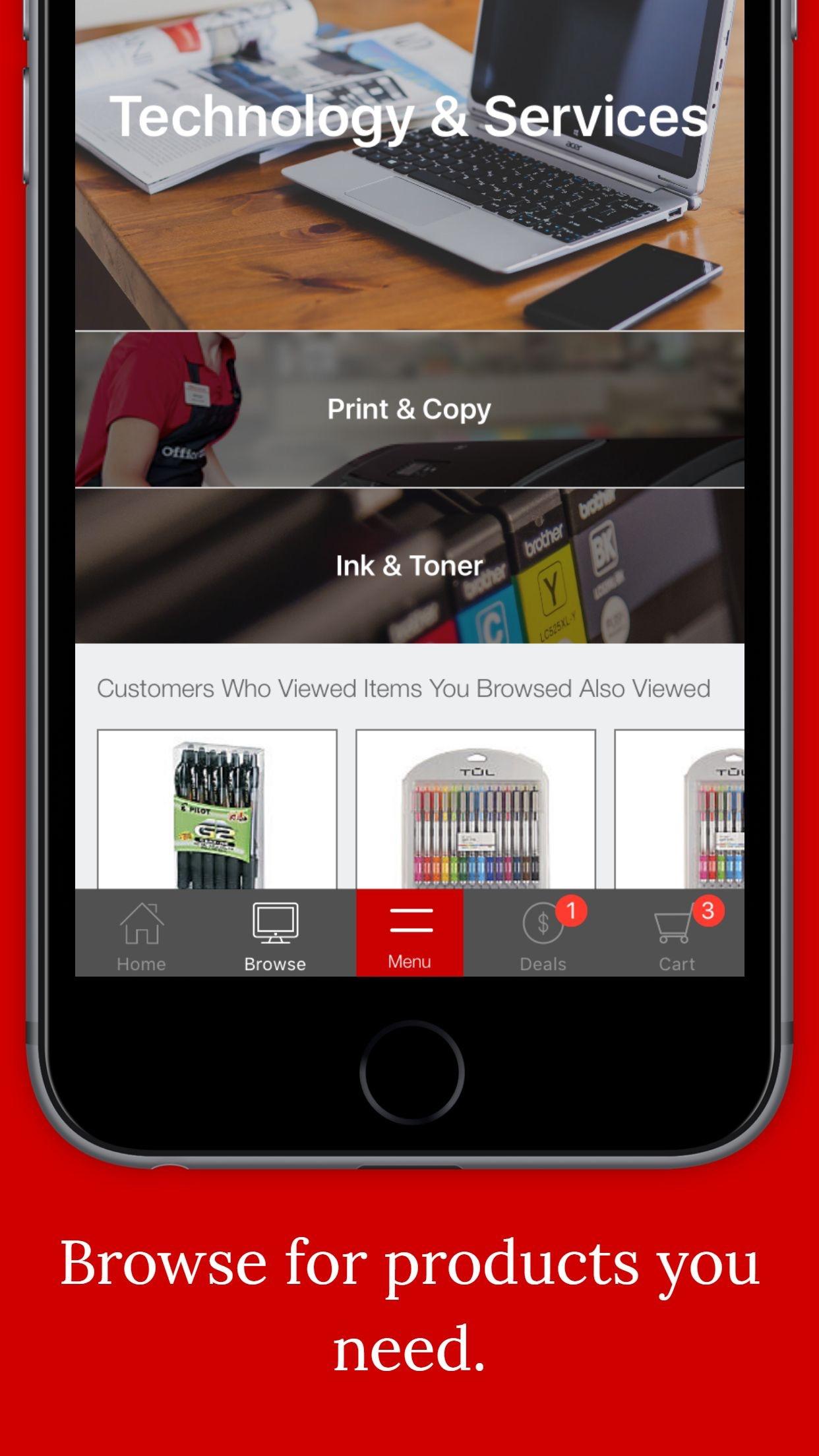Office Depot - Rewards & Deals Screenshot