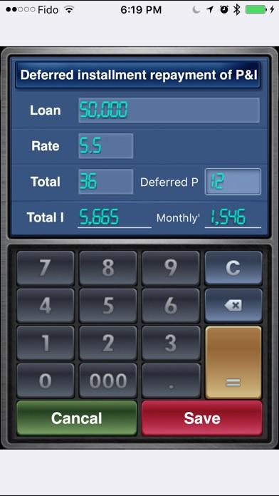 Screenshot for EZ Loan Calculator in United States App Store