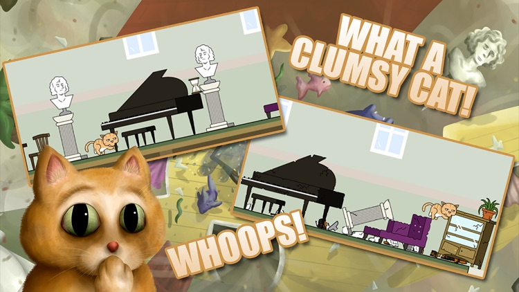 Clumsy Cat screenshot-4