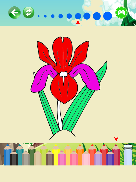 Beautiful Flowers Coloring Pages For Kids App Price Drops