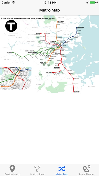 Boston Metro & Subway screenshot-4