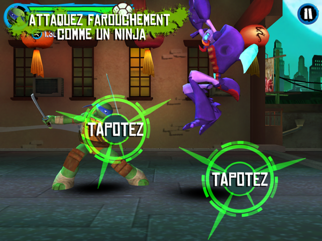 ‎Les Tortues Ninja : la poursuite Capture d'écran