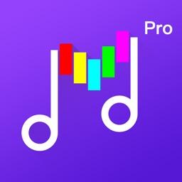 Music Editor&Ringtone Maker Pro-Song Cutter&Mixer