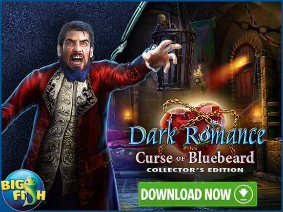 Dark Romance: Curse of Bluebeard - Hidden Objects screenshot 10