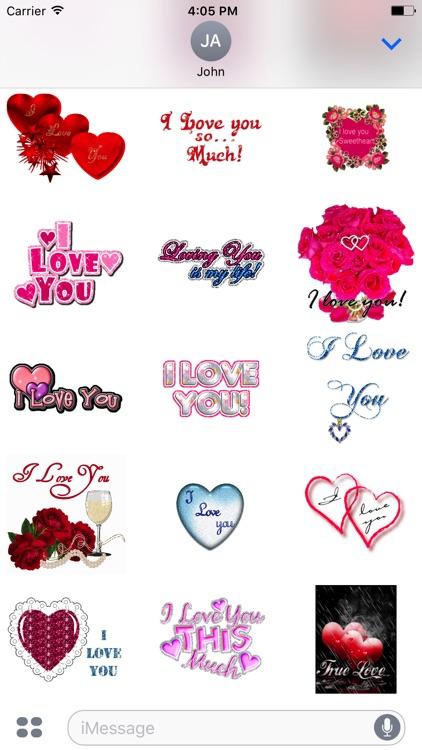 Animated Girlfriend & Boyfriend Love GIF Stickers screenshot-3