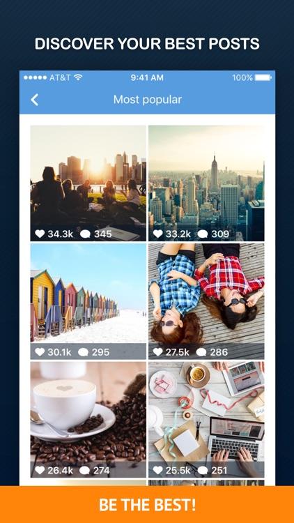 InTrack PRO - Followers Analytics for Instagram screenshot-3