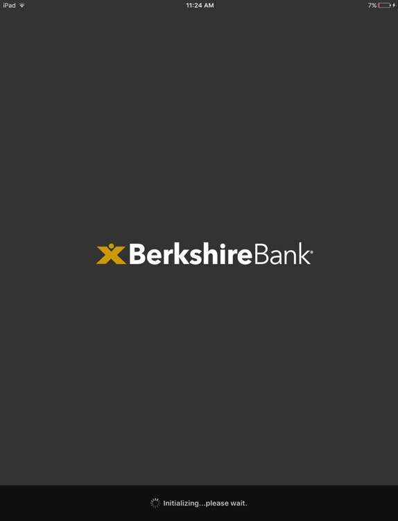 Berkshire Bank Mobile for iPad