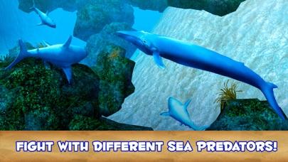 Blue Whale Undewater Survival Simulator 3D-2