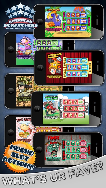 American Scratchers Lottery Scratch Off Tickets screenshot-3