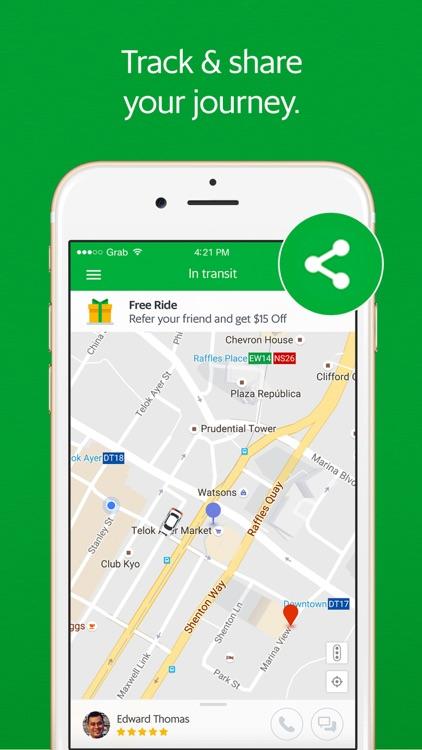 Grab - Ride Hailing App screenshot-3