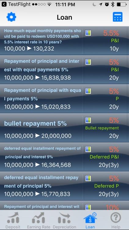 EZ Financial Calculator Lite screenshot-4