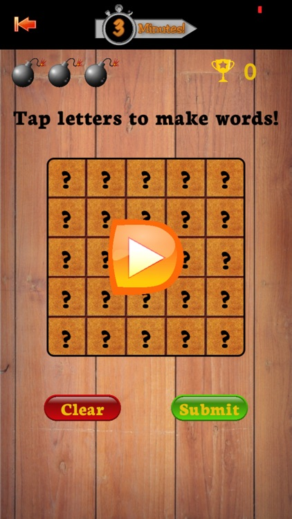 3 Minutes - Word Game!