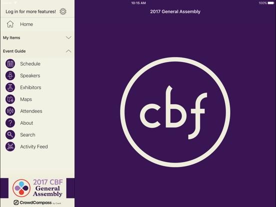 Cooperative Baptist Fellowship Events-ipad-2