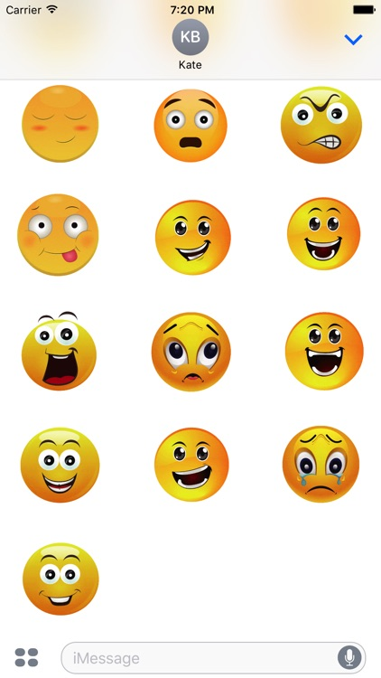 Animated Smiley Stickers screenshot-3