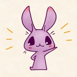 Purple Rabbit !