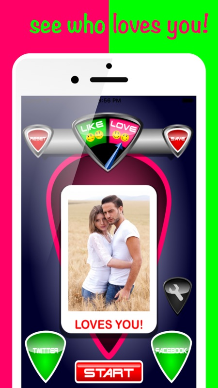 Love Detector Face Test Prank - Tips for Android & iOS Game